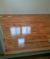 Water Damaged Hardwood
